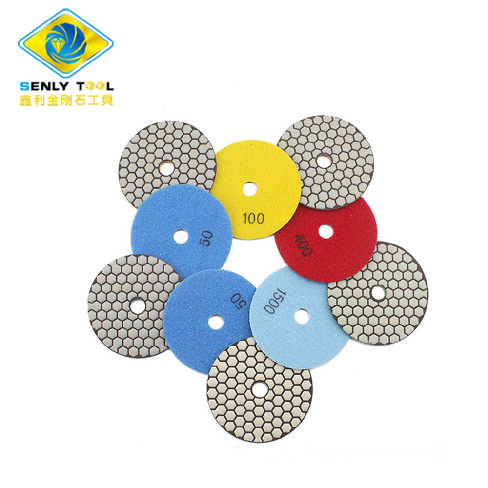 Diamond Marble Stone Dry Polishing Pad