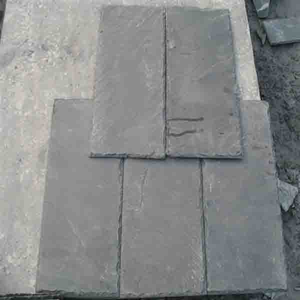 Customized Gray & Black  Natural Slate Roofing Tile
