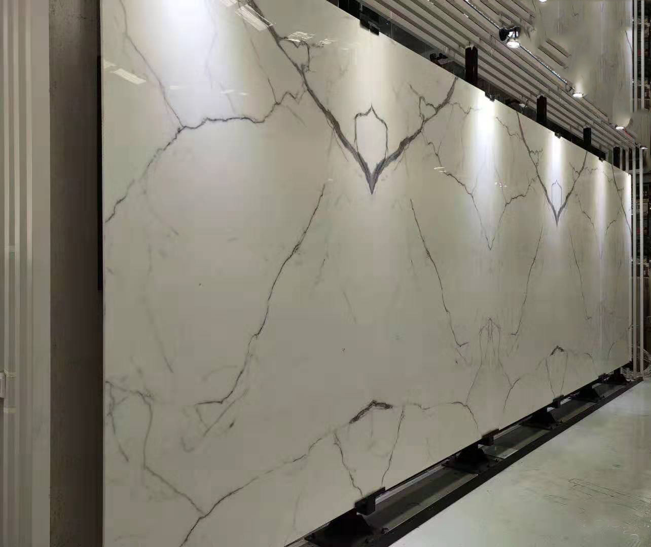 nano calacatta white crystallized stone