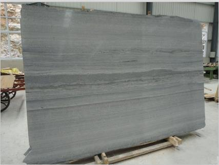Blue Wooden Grain Marble from China