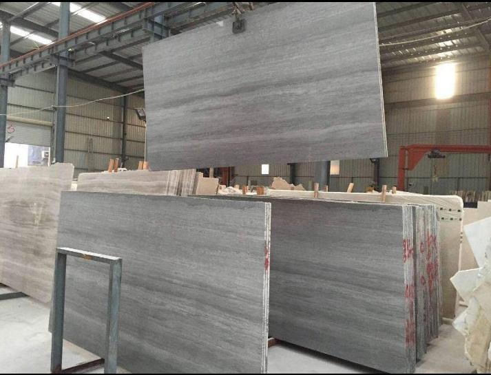 Grey Wooden Grain Marble