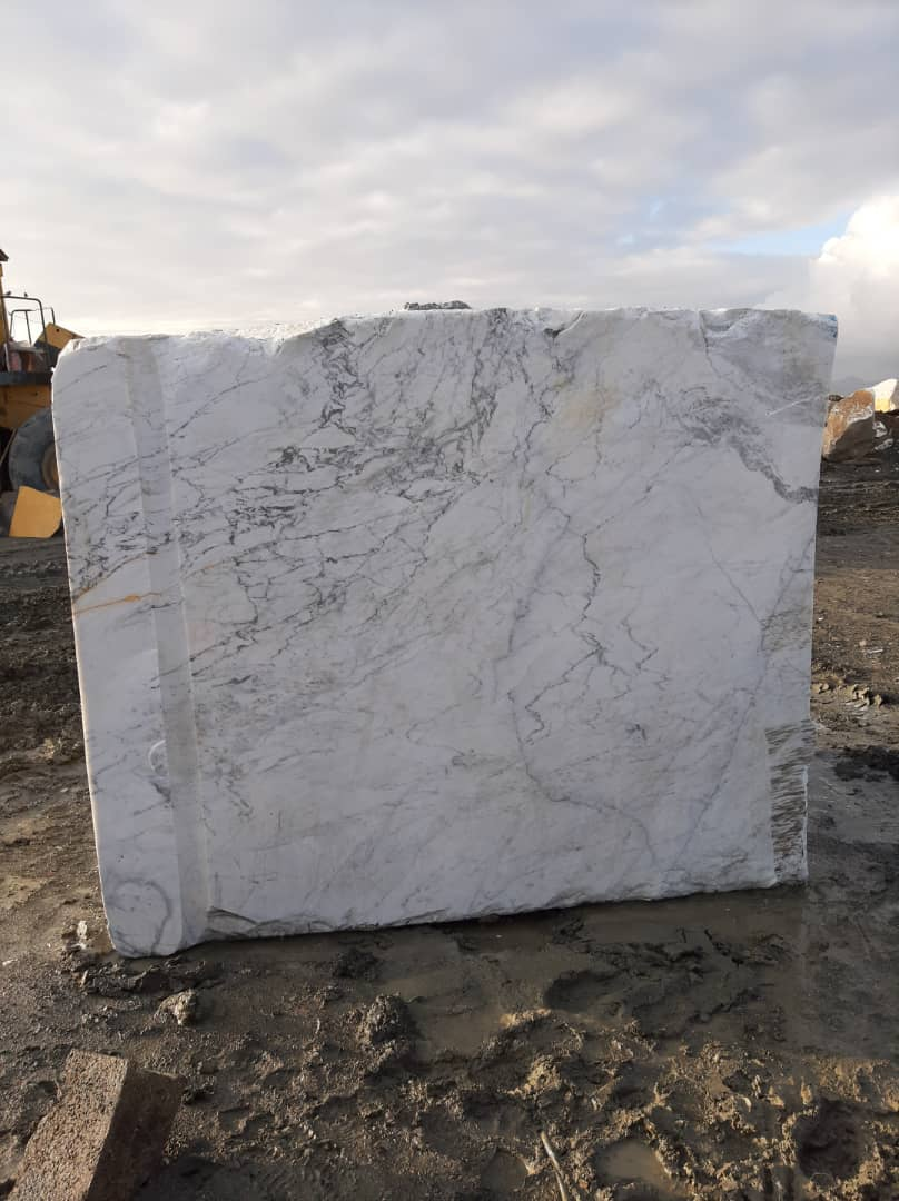 Aligudarz white crystal stone mine