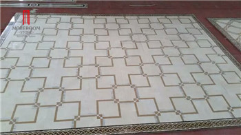 Hot Sales Burberry Beige Laminated Marble Tile Price