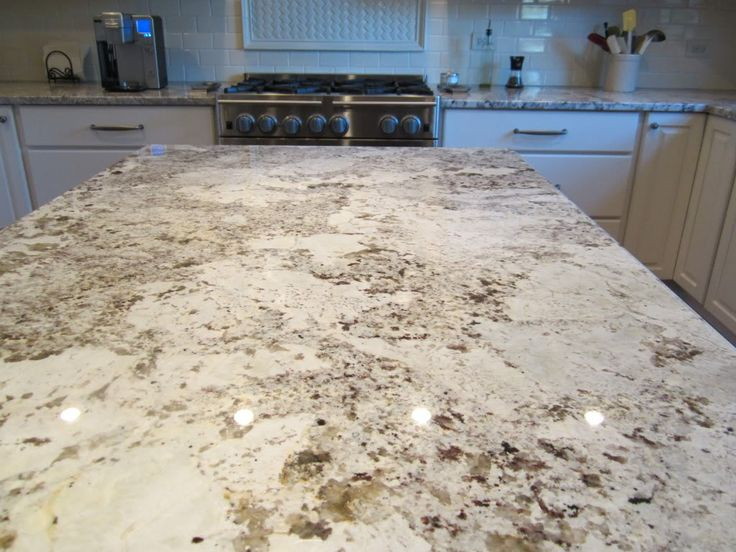 Alaska white granite kitchen top