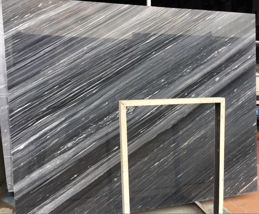 55 Degree Grey Marble Meteor Shower