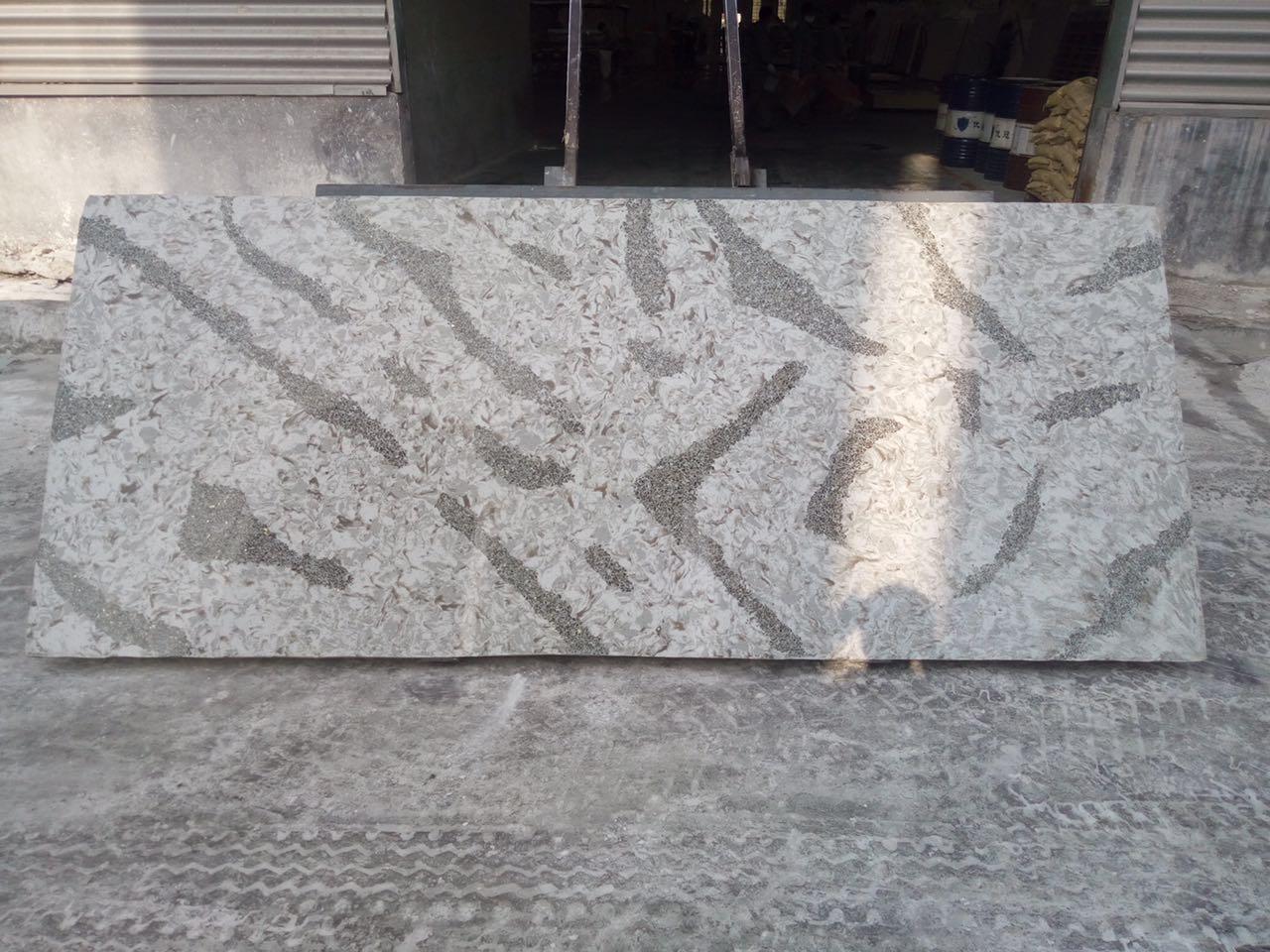 Calaeatta quartz White stone