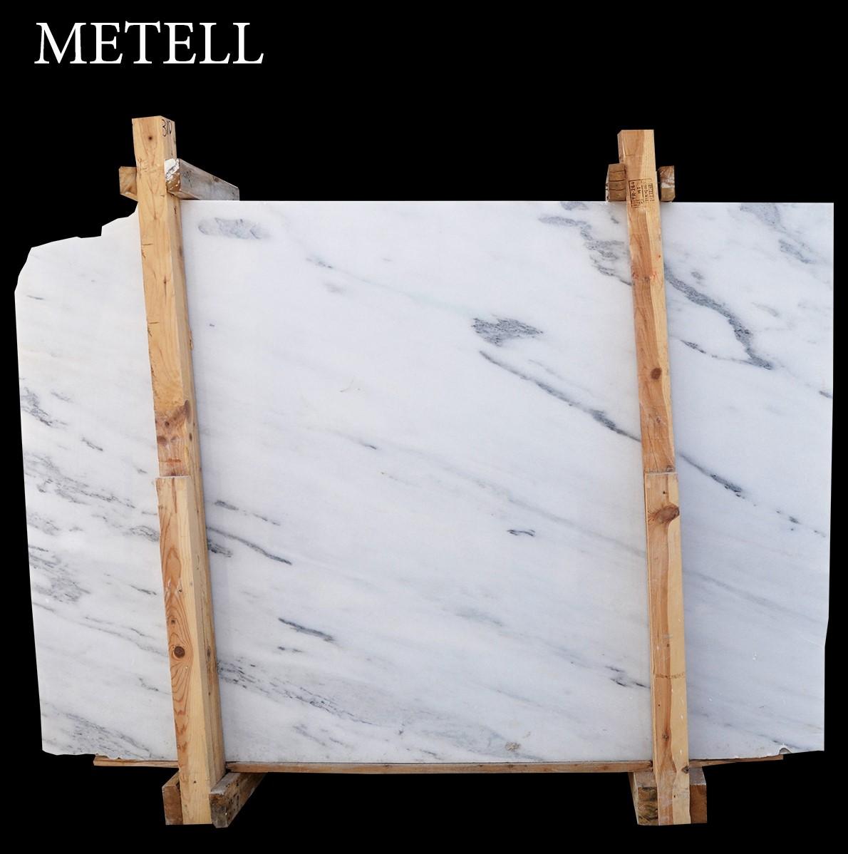 Mugla White Marble Slabs  Metell Slabs