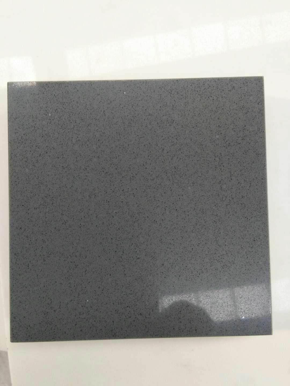 Artificial concrete grey color quartz stone
