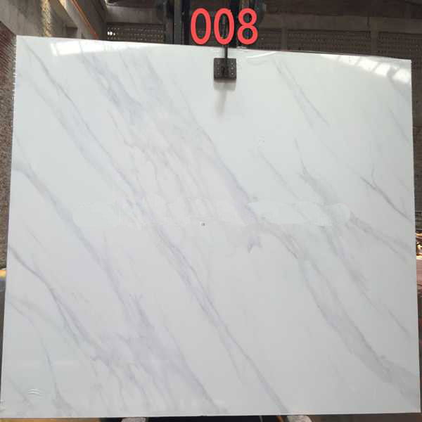 New Item Artificial Calacatta White Marble