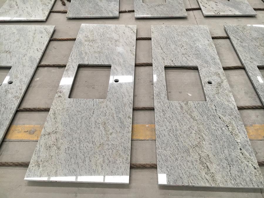 kashmire white granite countertop