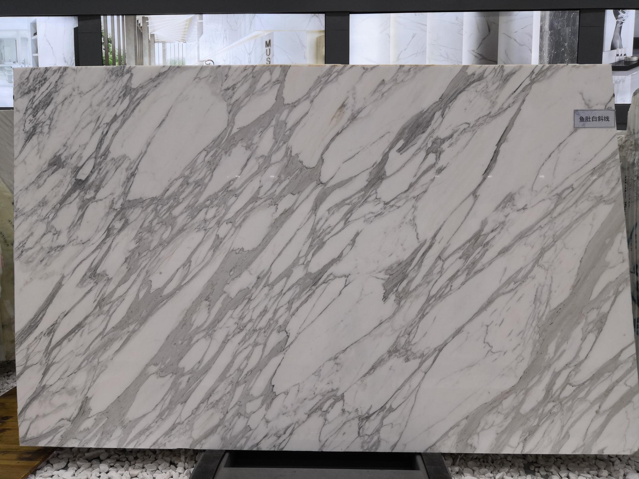 Hight Quality Calacatta White Polished Marble Slabs
