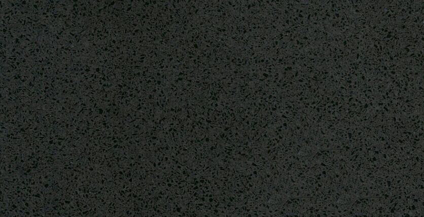 pure black quartz stone