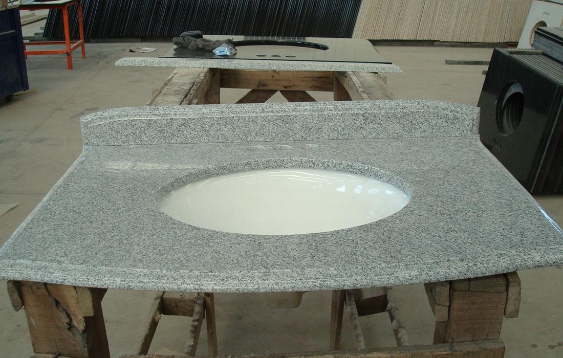 G603 Granite Bathroom Vanity Tops