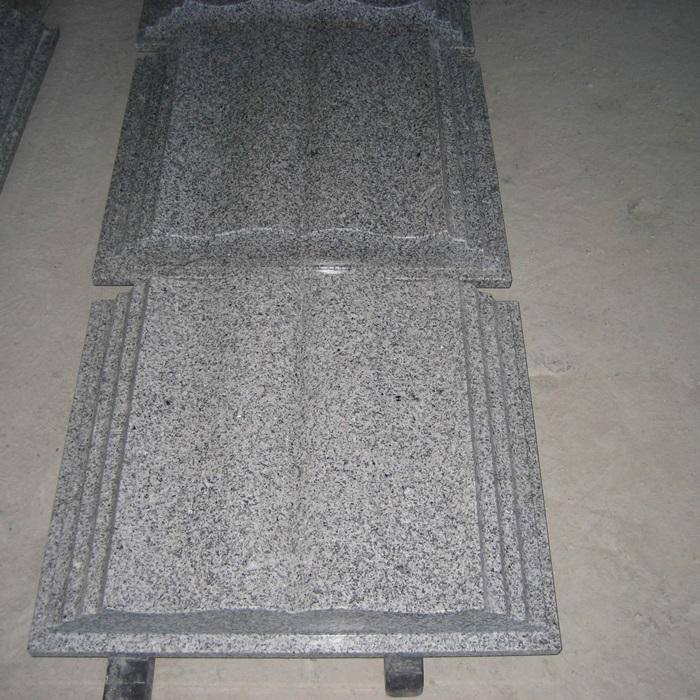 G603 Granite Book Shape Headstone