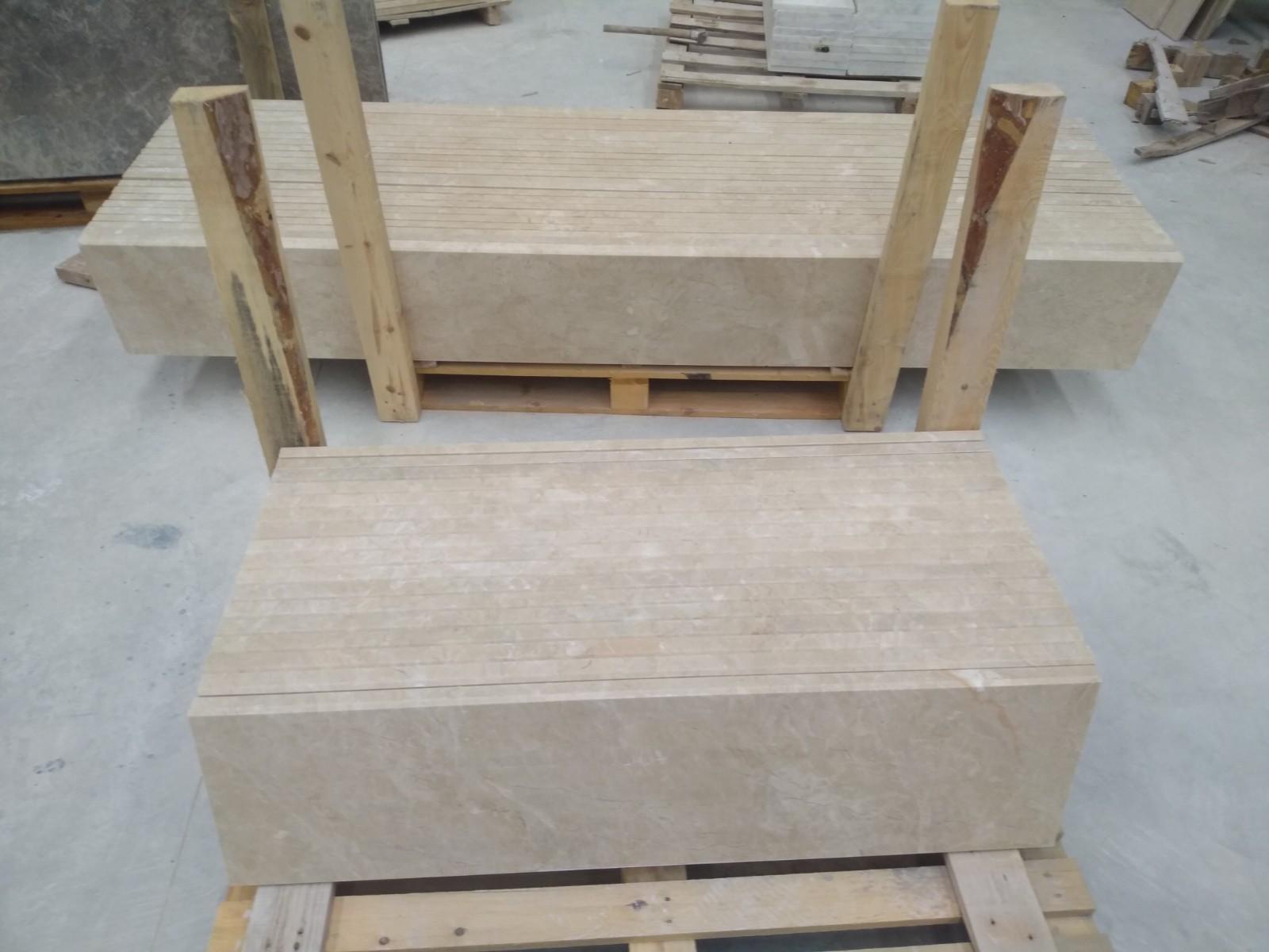 Beige Marble Steps