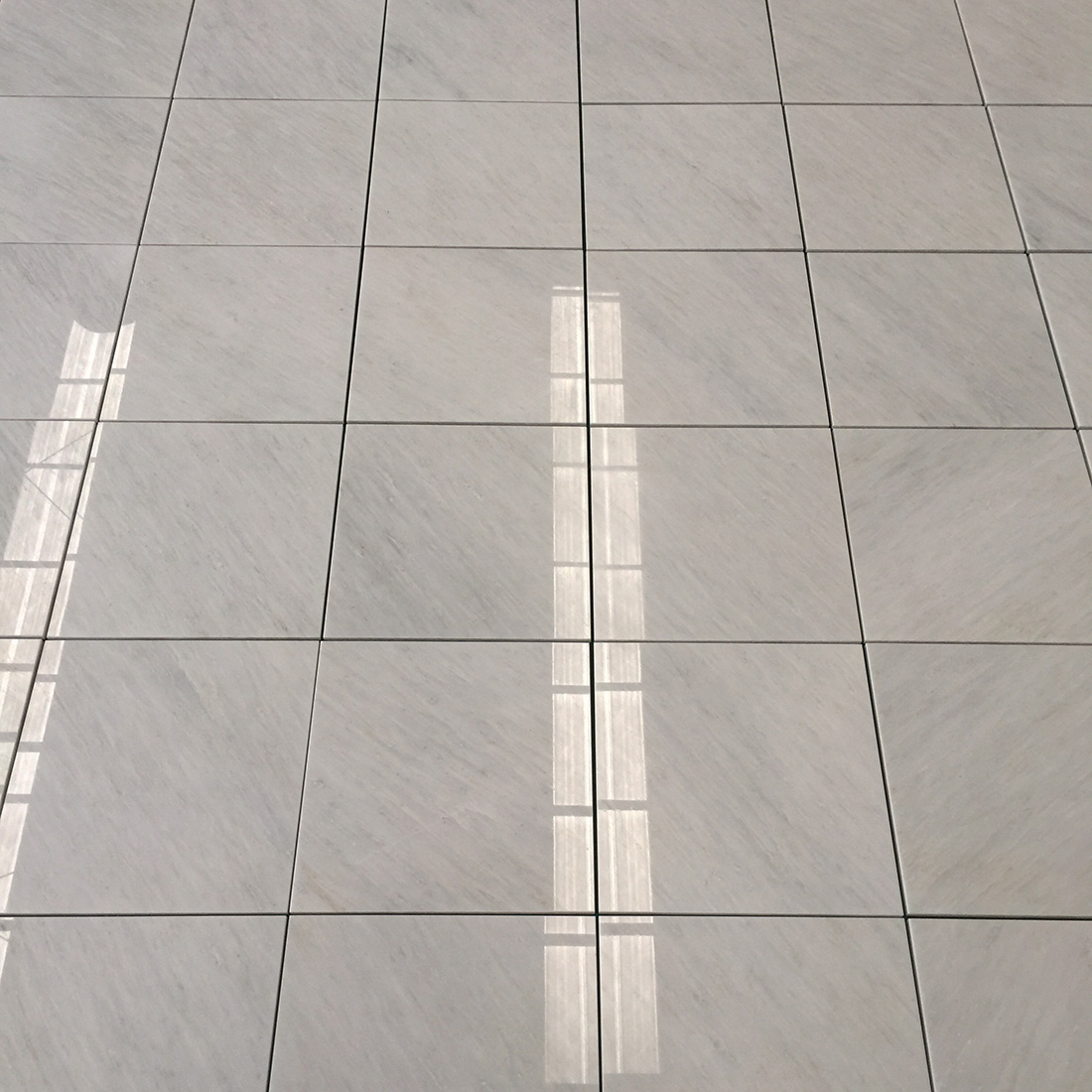 New Oriental White Marble Tiles Polished