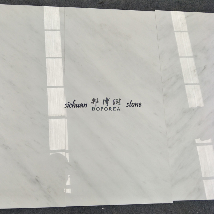 Factory quarry stone slabs white ceramic marble floor tile marble price
