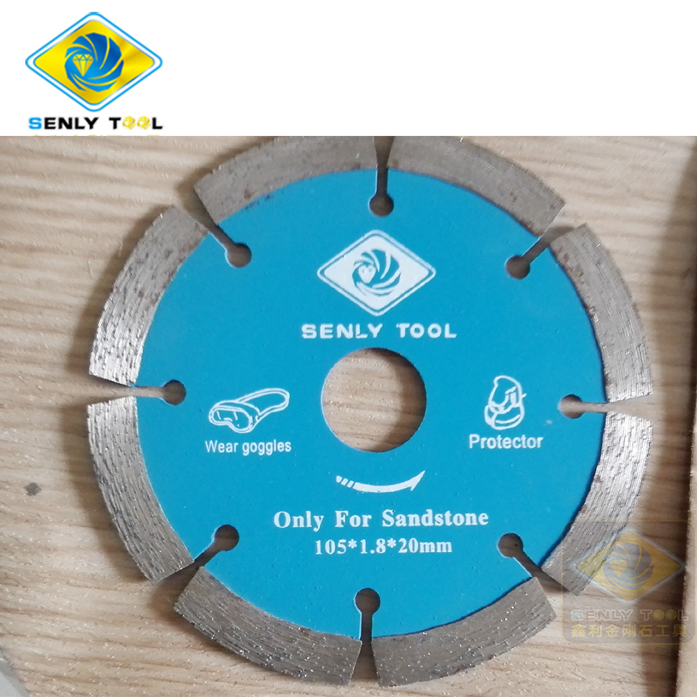 Small Diamond Saw Blade for Sandstone Cutting