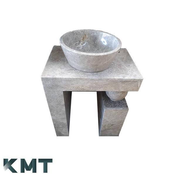 Pedestal Sink  Stone Basin S-15005