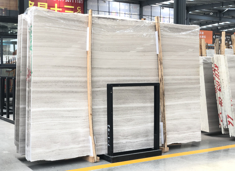 Polished White Marble Slabs Serpegiante Marble Slabs