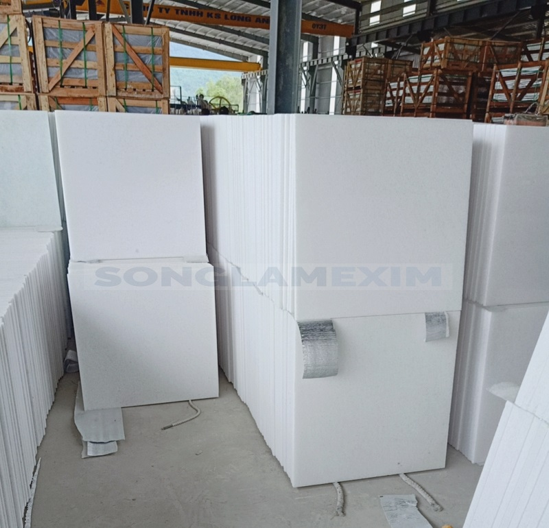Crystal White Marble Premium Quality