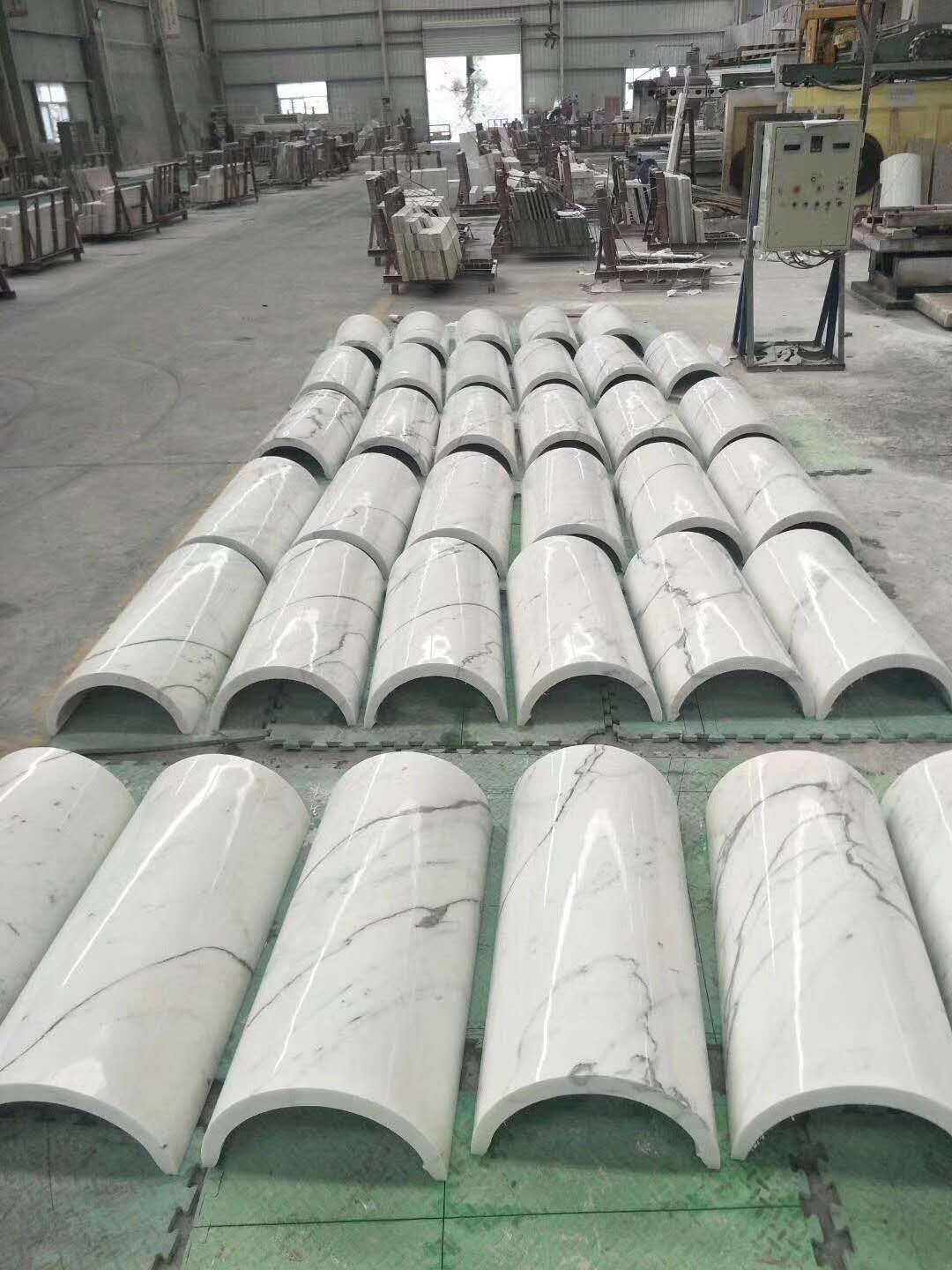 Hight Quality Calacatta Marble Column