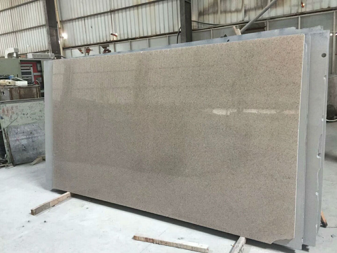 G681 China Shrimp Pink Granite Slab