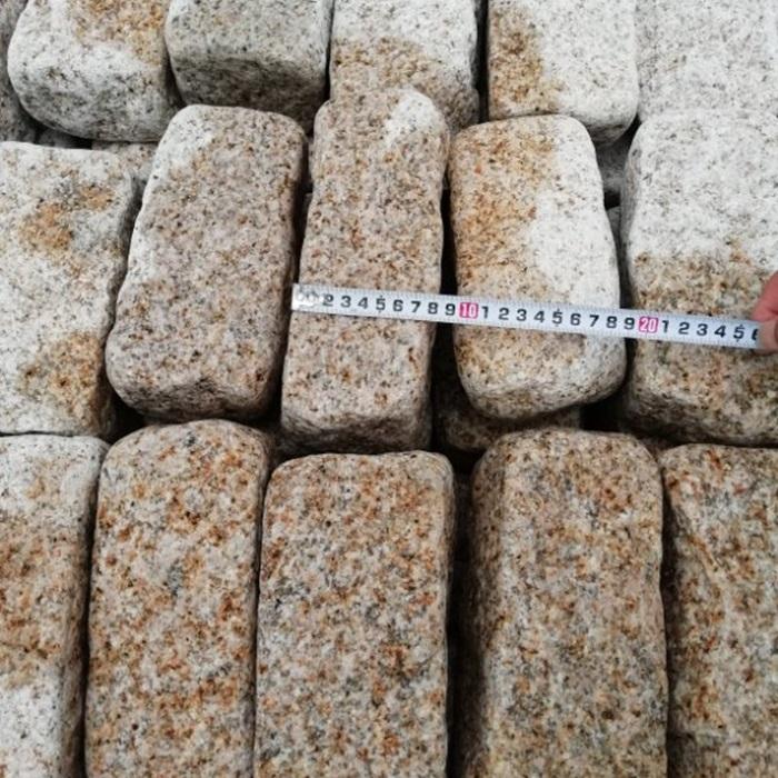 G682 China Yellow Granite Cobbles