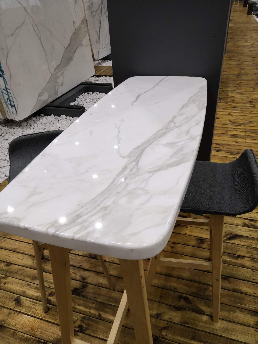 Hight Quality Calacatta White Table Tops