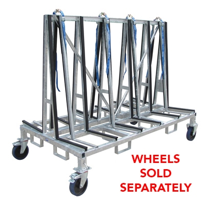 Small A frame Cart Double Sided Transport Cart