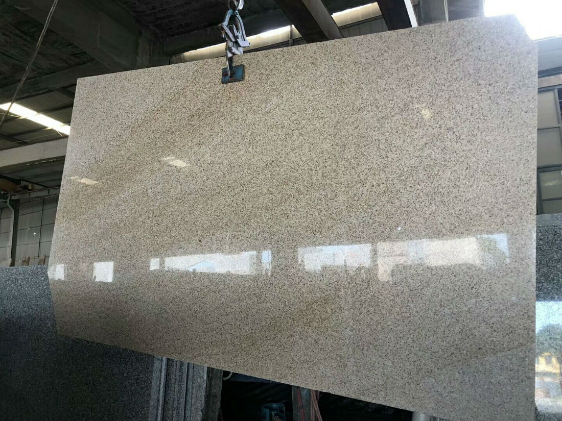 G682 Sunset Gold Granite Slab