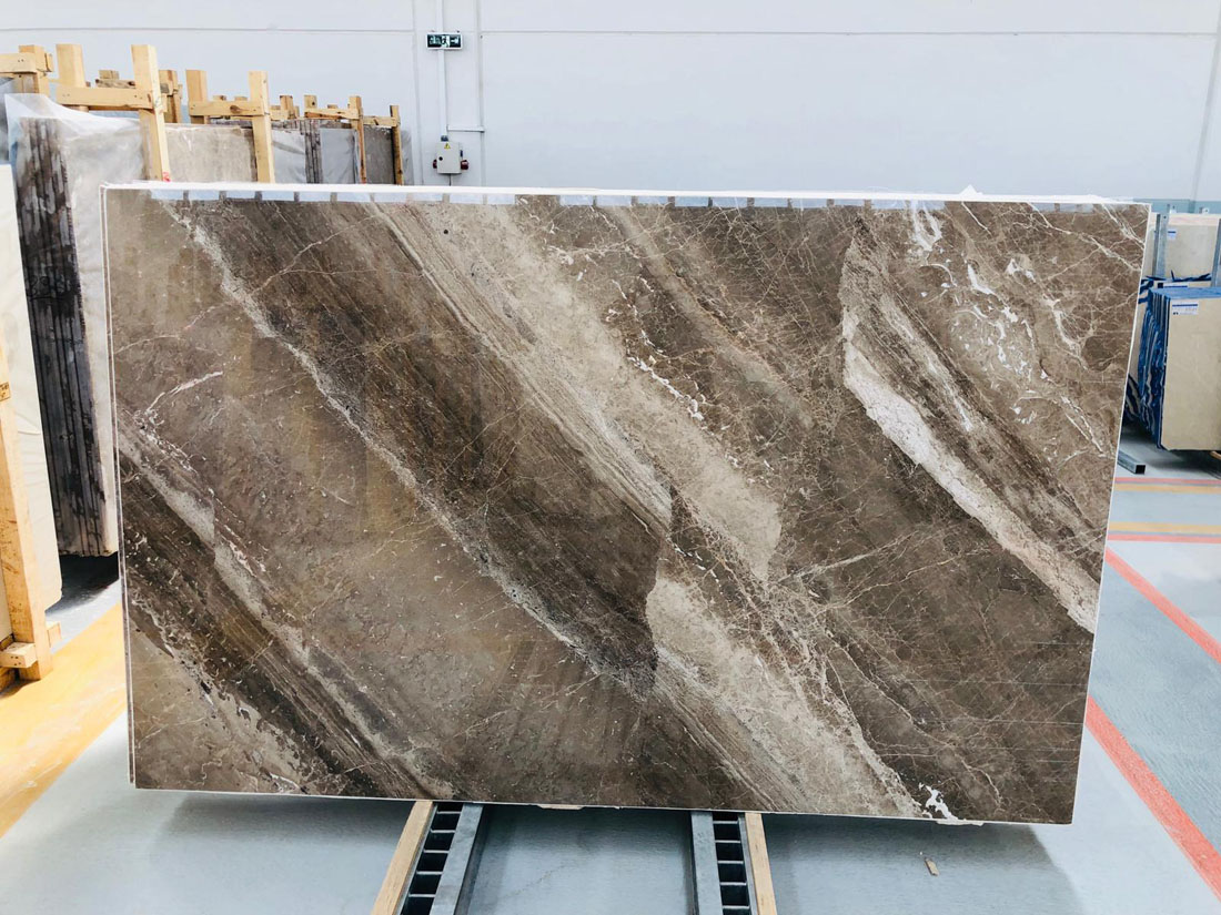 Turkish Dino Brown Marble Slabs
