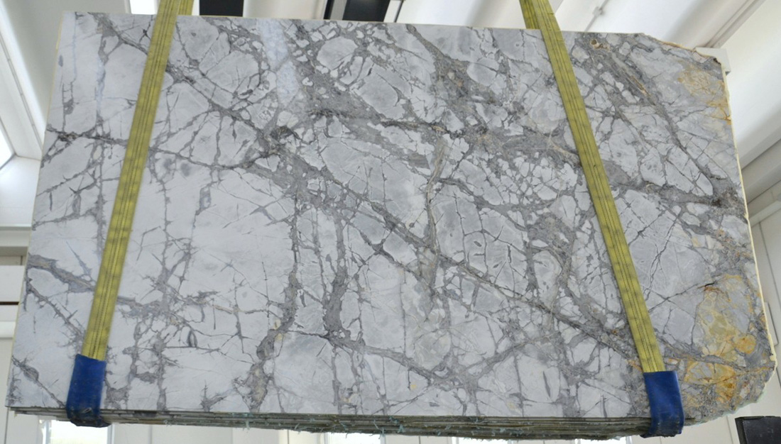 Invisible Grey Brazil Marble  Polished Slabs