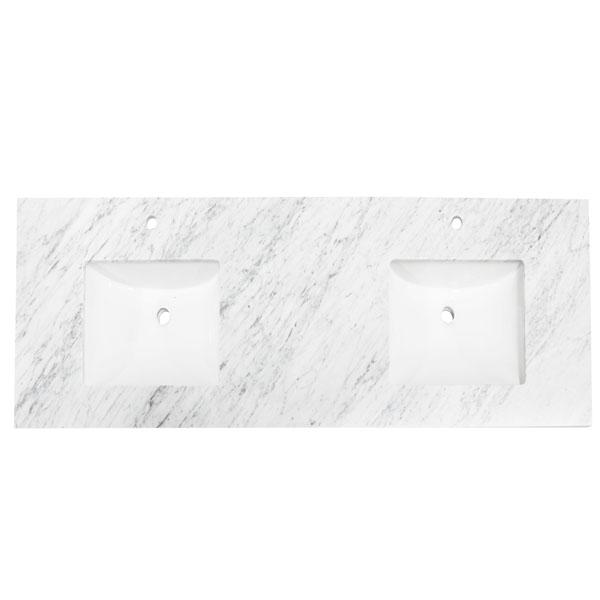 70 Bianco Carrara Marble Countertop