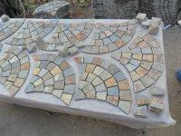 Fans mats paving stone