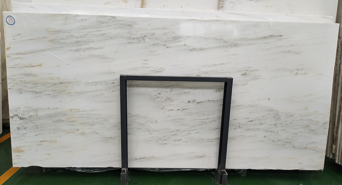 China White Marble Slabs Landscape Painting