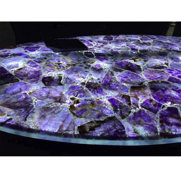 Amethyst Crystal Countertops
