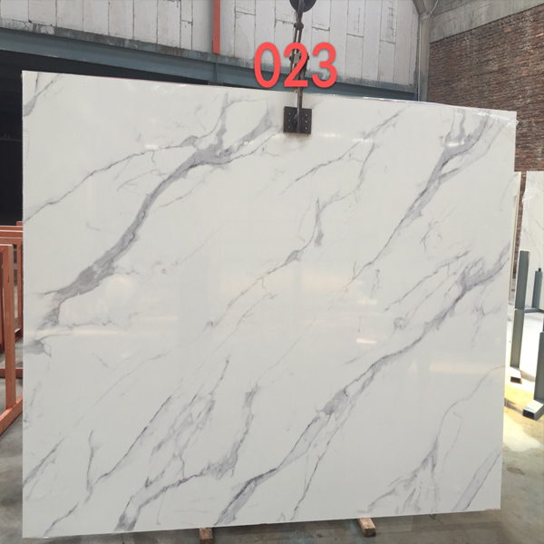 Chinese Artificial marble calatatta White