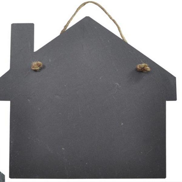Slate tray house shape