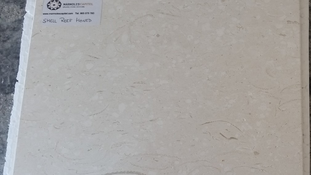 SHELL REEF LIMESTONE TILES