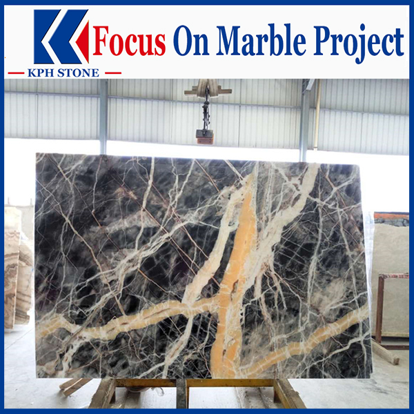 Black Jungle Marble Floor Tiles&Slabs