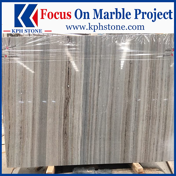 China Palissandro Blue marble Crystal Wooden Marble Blue Wood Vein Marble Blue Oak Marble