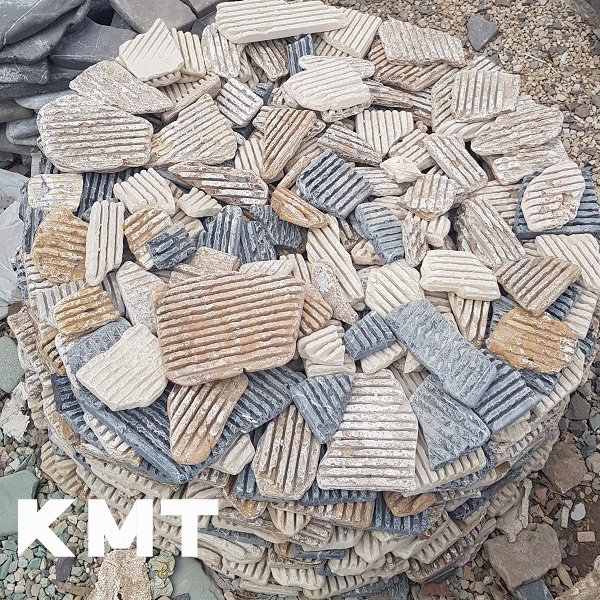 Multicolor Grooved Flagstone L-15018