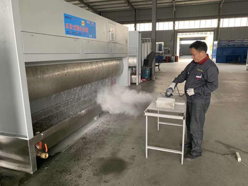 Granite Quartz Stone Dry Dust Collection Cabins