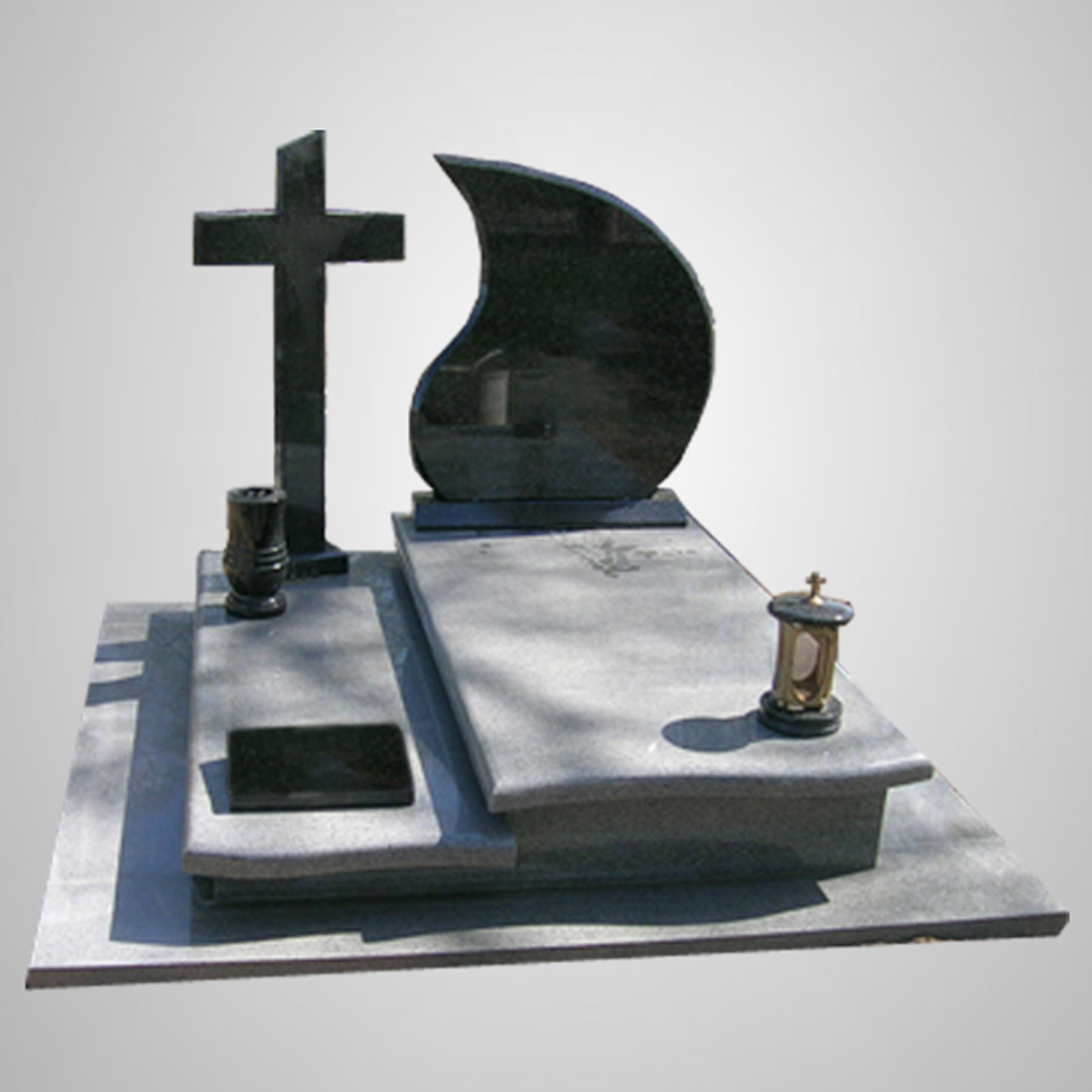 Modern Customized Tombstone Memorial