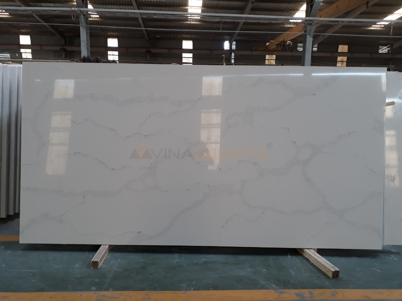 Engineered Quartz Slab - Calacatta Verona