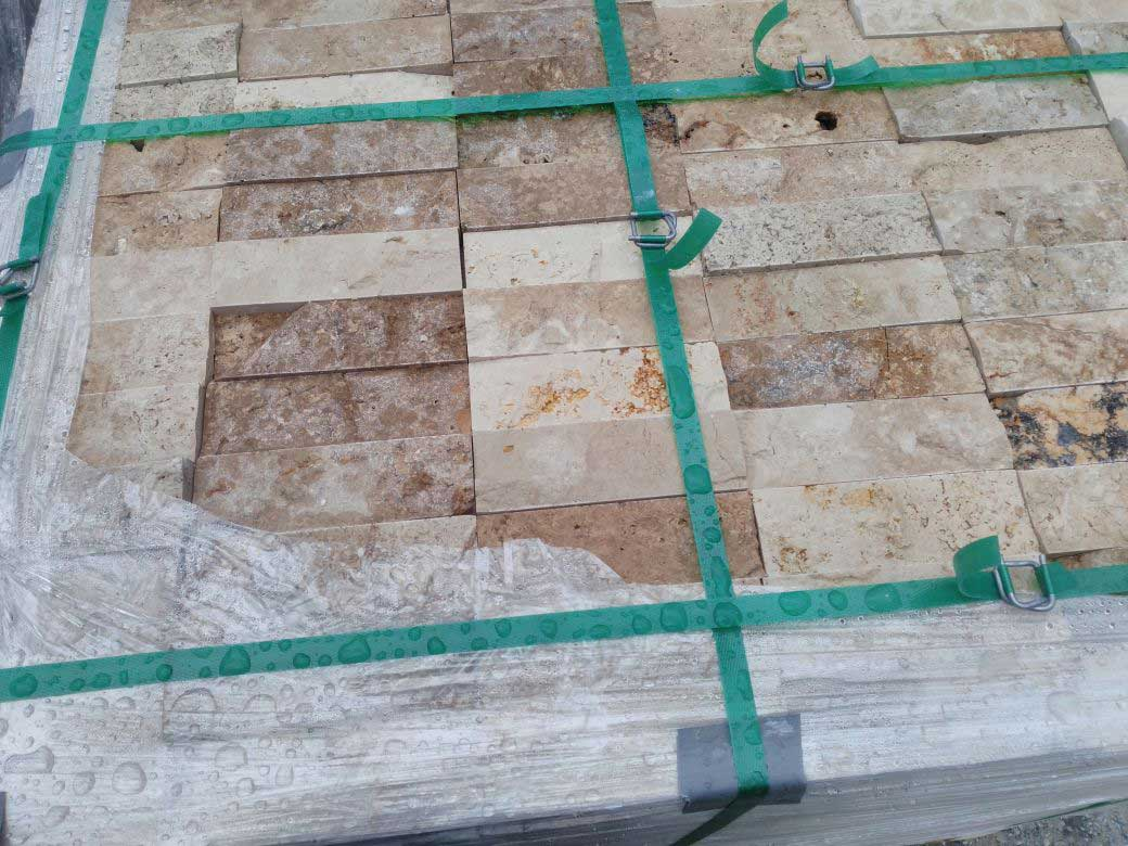 Naturel travertine tile