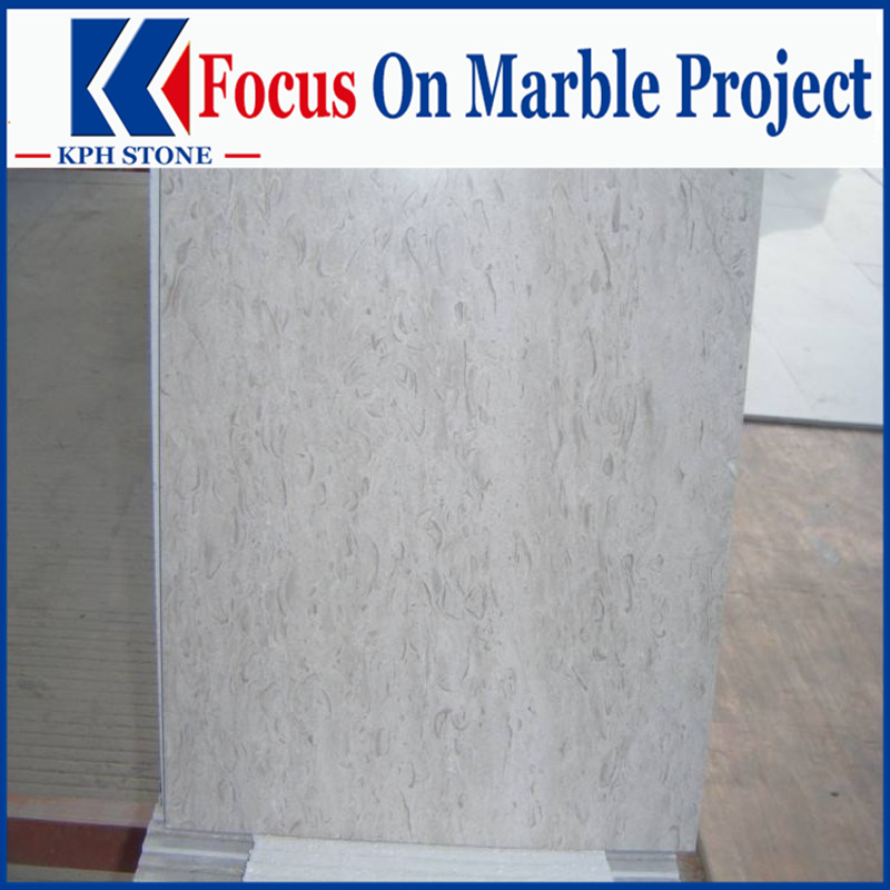 Crabapple White Begonia Marble Slabs for Pan Pacific Singapore