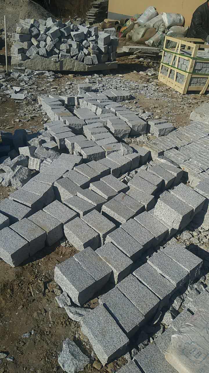 G602 cubes  cheap gray cubes