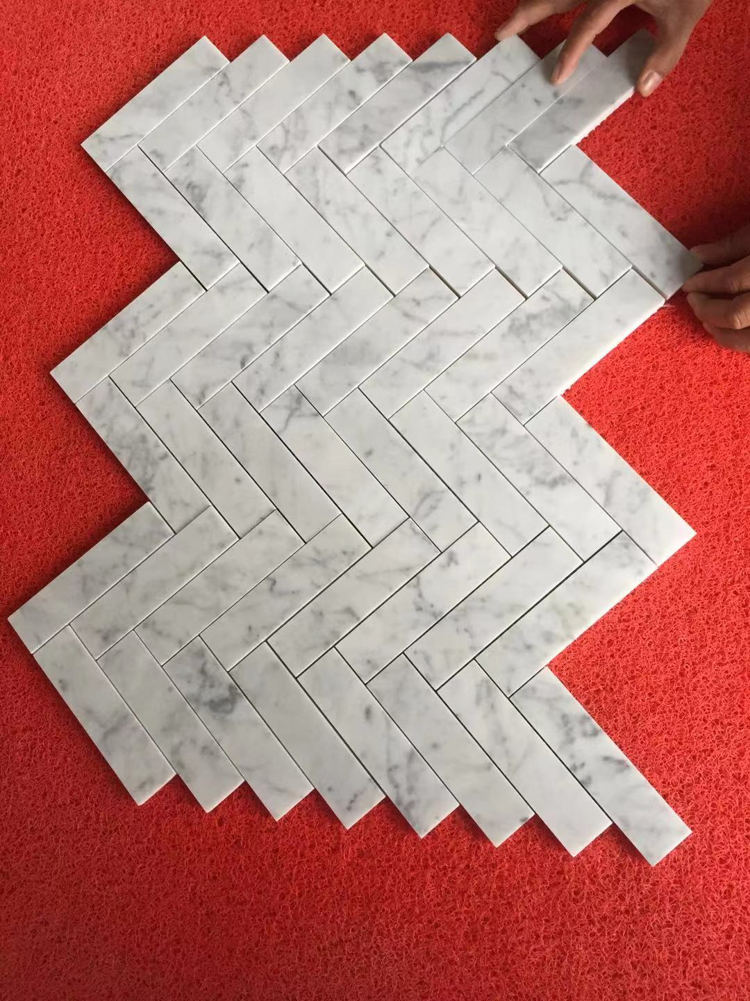 Hot Selling White Marble Mosaic